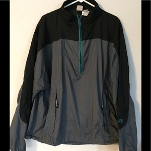 The North Face Men's Vented Jacket XXL 1/4 Zip